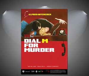 Alfred-Hitchcocks-Diam-M-For-Murder-Vintage-Movie-Poster-A1-A2-A3-A4-sizes