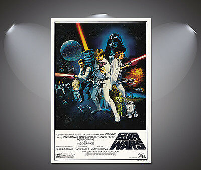 A0 A1 A2 A3 A4 Sizes Star Wars Movie Art Large Poster Print