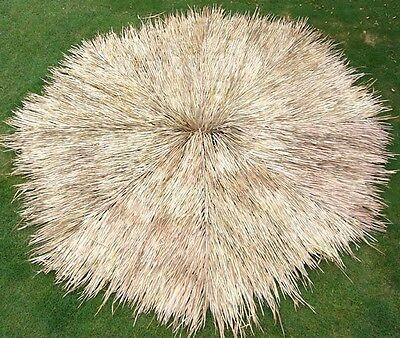 12' Round Mexican Palm Thatch Tiki Umbrella Cover Tropical Commercial Grade