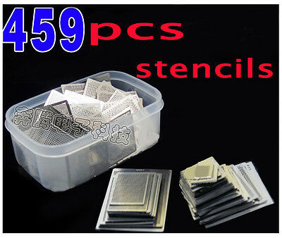 459 Pcsset Bga Direct Heating Stencil Bga Reballing Reball Stencils Kit