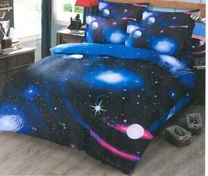 Starry Sky Space Twin Bedding Set