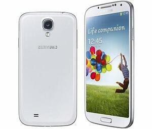 New Samsung Galaxy s4 16gb White/Black Unlocked in Mint Condition!