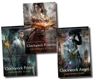 The Infernal Devices Collection 3 Books Set By Cassandr Clare-Clockwork Princess