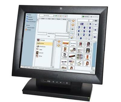 12 Zoll Touchscreen USB WINCOR POS Kassenmonitor / komplett / Windows 10/7 ready