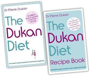 The-Dukan-Diet-Recipe-2-Book-Collection-Set-Diet-plan-weight-loss-heathy-eatin