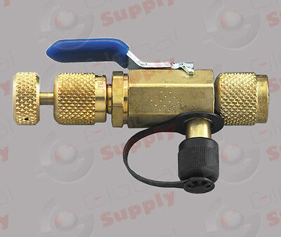 Yellow Jacket 18975 4 In 1 Ball Valve Tool 14 With Side Port