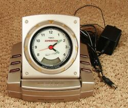 Vintage Timex Expedition AM/FM Clock Radio Alarm Nature Sounds Sleep Machine