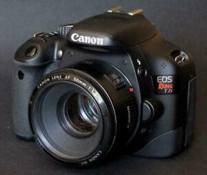 Canon EOS Rebel T2i 18MP WITH LENS