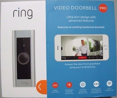 *BRAND NEW* Ring Video Doorbell Pro, New in Retail Box