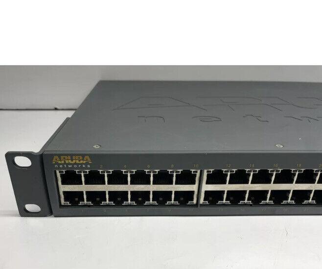 """Aruba Networks S2500-48P-4x10G PoE 48-Ports Mobility Switch *6 MONTH WARRANTY"""""""