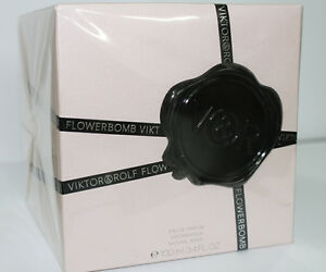 Viktor & Rolf FLOWERBOMB 3.4oz 100ml EDP Spray Women New 100% Original & Sealed