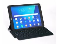 Samsung Galaxy Tab S3 Tablet with S Pen and Keyboard Cover