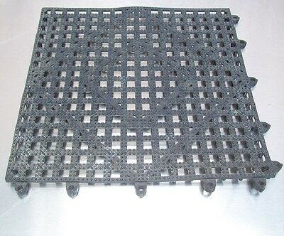 Restaurant Equipment Bar Supplies San Jamar Versa-mat Interlocking Bar Mat Black