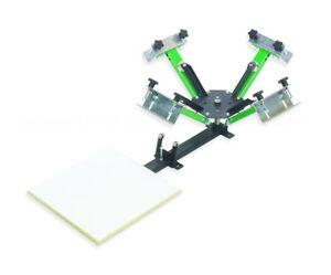 Screen-Printing-Press-4-X-1-4-color-equipment-machine-press