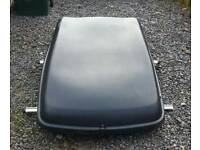 Halfords large roof box with 2 keys
