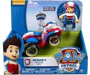 paw patrol pat patrouille figurine ryder vehicule ebay. Black Bedroom Furniture Sets. Home Design Ideas