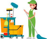 Offerring House Cleaning and House Sitting