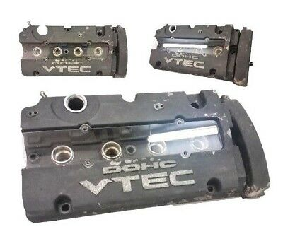 VMS RACING CNC VALVE COVER SPARK PLUG WIRE INSERT GOLD FOR PRELUDE H22A1 H22A4