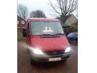 Mercedes sprinter swb 208 cdi plus