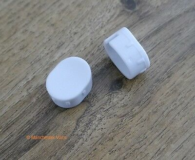 Dyson Airblade Hand Dryer Front Screw Covers Caps. White. Ab04 Ab14