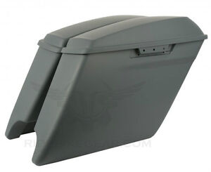 "14/15 HD HARLEY 4.5"" STRETCHED EXTENDED SADDLE BAGS SADDLEBAGS Kitchener / Waterloo Kitchener Area image 6"