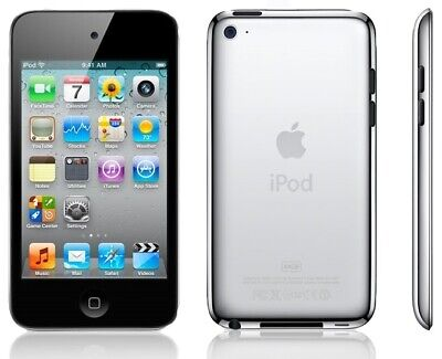 """Apple iPod touch 4th Gen Wi-Fi Music/Video Player w/3.5"""" LCD Touchscreen"""