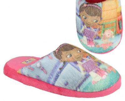 Disney ' Doc Mcstuffin' Mädchen Pink Textil Slipper - Doc Mcstuffin Schuhe