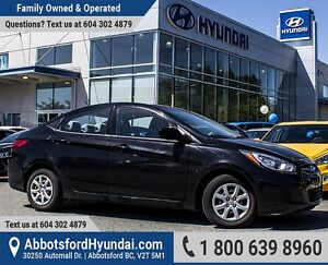 2013 Hyundai Accent GL BC OWNED