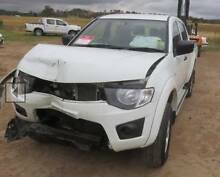 Mitsubishi Triton 2014 DUAL CAB DIESEL 4WD NOW WRECKING Narellan Camden Area Preview