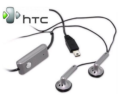 Htc Touch Stereo (Echt HTC EMC220 In-Ear Stereo Headset für HD2 Magic Touch Silber)
