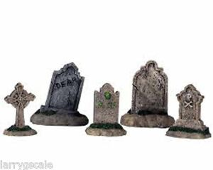 Headstone-Tombstone-Miniatures-5-1-24-Scale-G-Scale-Diorama-Accessory-Items