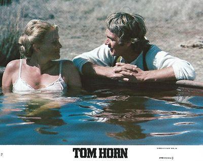 TOM HORN -1980- Original 8x10 Mini Lobby Card #2 - STEVE MCQUEEN, LINDA EVANS