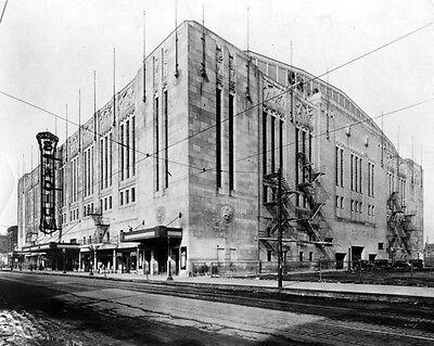 - 1931 Bulls & Blackhawks CHICAGO STADIUM Glossy 8x10 Photo Print Poster