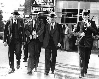 1933 American Gangster Mobster George Machine Gun Kelly 8X10 Photo Print Poster