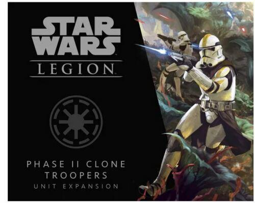 * Star Wars Legion Phase II Clone Troopers