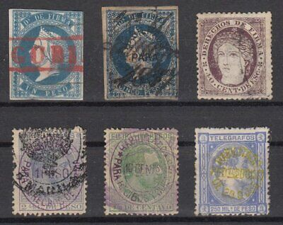 (CP072) PHILIPPINES - FILIPINAS. OLD FISCAL STAMPS. FIRMA, GIRO