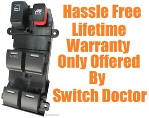 NEW 2009-2014 Honda Fit Electric Power Window Master Control Door Switch