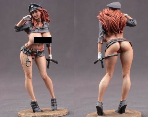 tin toy soldiers  painted  Girl 80mm sex girl