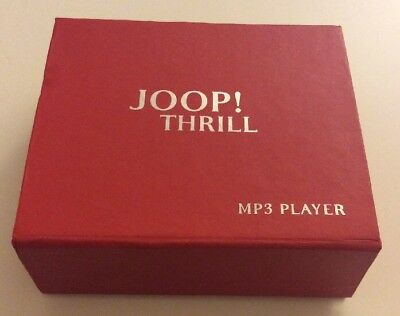 JOOP! THRILL MP3 Player with Accessories - Red / Rare