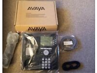 Avaya 9630G office phones (boxed, unused)