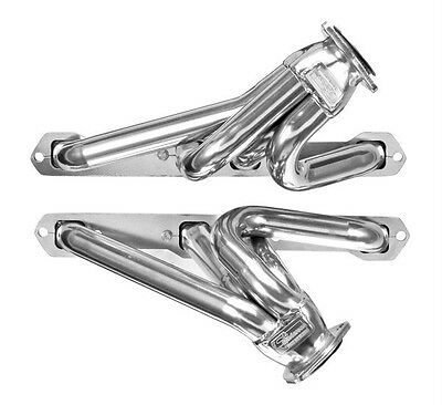 Ford Y-Block V8 256 - 312 1955 1956 1957 Thunderbird Plain Steel Headers T BIrd