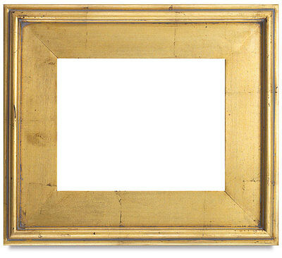 Classic Style Plein Air Antique Gold Leaf Wood Frame Size 9 x12 Inches