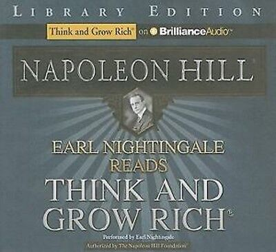 EARL NIGHTINGALE reads THINK AND GROW RICH book Napoleon Hill AUDIO CD audio NEW