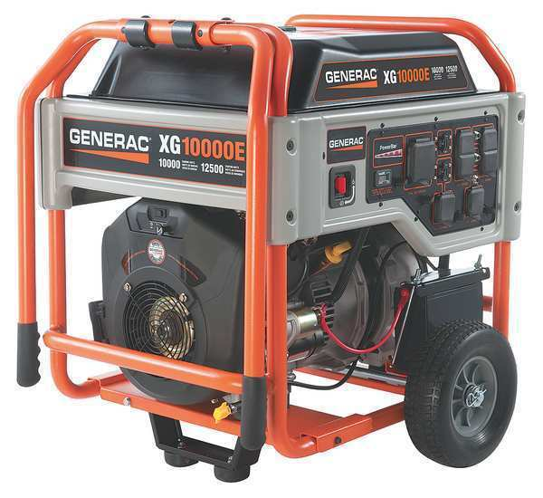 Generac Generac Portable Generator 10000 Watts Gas, 5802
