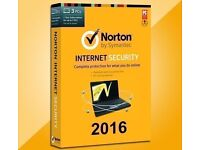 Norton Internet Security 2017 Premium MCafee AVG Genuine BRAND NEW SOFTWARE FREE RECORDED DELIVERY