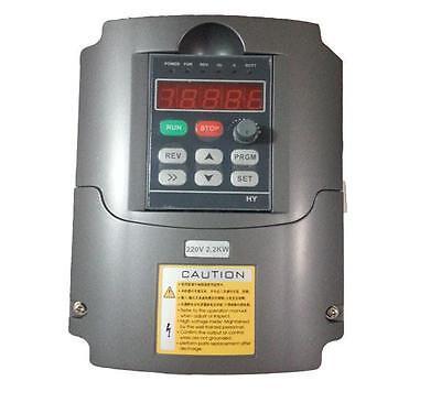 Cnc Spindle Motor 2.2kw Frequency Inverter Mount Er20 Collet Water-pump