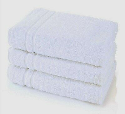 6 NEW HOTEL SELECT 22X44 BATH TOWELS 100% COTTON SOFT ABSORBENT RESORT GYM SPA**