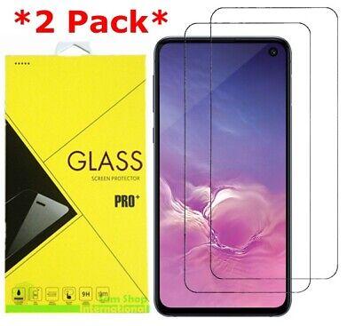 2X Premium Tempered Glass Screen Protector For Samsung Galaxy S10e