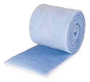 10 FEET BLUE BONDED FILTER MEDIA ROLL - 10' X 12