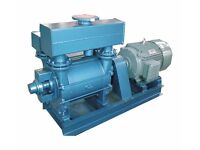 used Nash Vacuum Pump 2BE1403 with 500 HP motor for sale